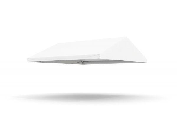 Dachplane Partyzelt 5 x 5 m PVC weiß