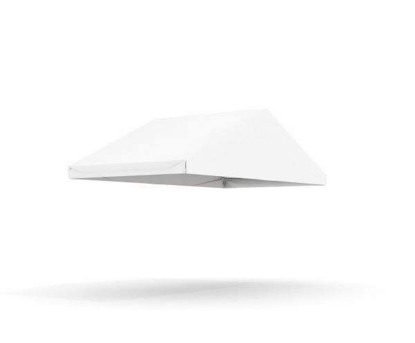 Dachplane Partyzelt 5 x 2,5 m PVC weiß