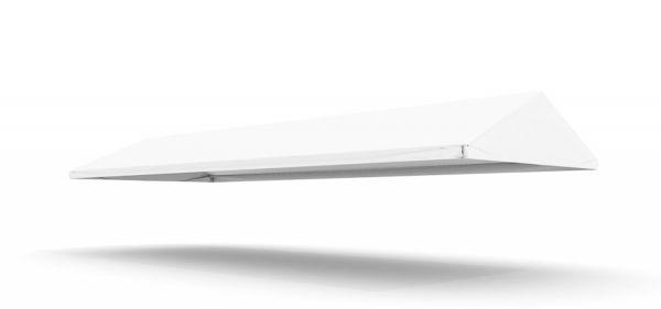 Dachplane Partyzelt 5 x 12,5 m PVC weiß