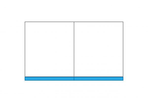 Schmutzstreifen für Seitenvorhang 4 m