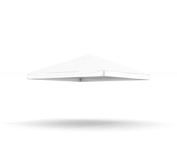 Dachplane Pavillon 4 m PVC weiß
