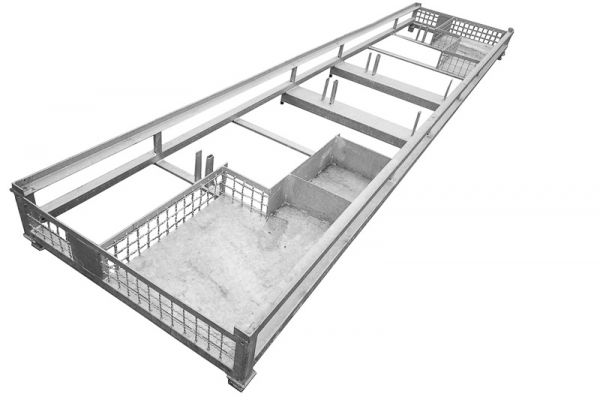 Transportpalette für Pavillon/Pagode 4 x 4 m