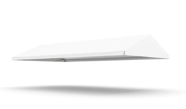Dachplane Partyzelt 5 x 10 m PVC weiß