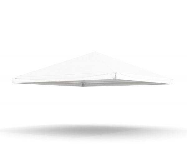 Dachplane Pavillon 5 m PVC weiß